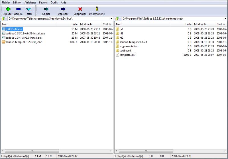 7-Zip - Zip/Unzip/Tar/Gz - Logiciels Libres - Framasoft