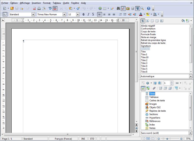 Apache OpenOffice Site Officiel Screen