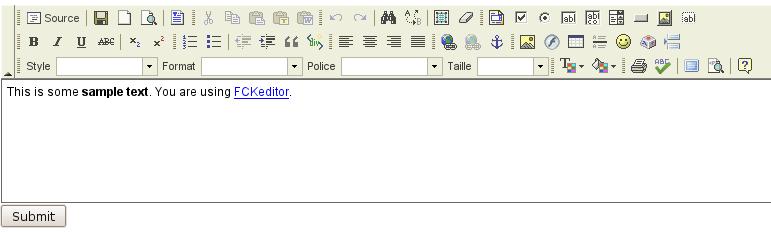CKeditor - Le coin du Webmaster - Logiciels Libres - Framasoft